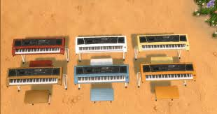 mod the sims ts4 keyboard piano sims 4 ferniture pinterest mod the sims ts4 keyboard piano