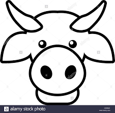 line drawing cow calf stock photos u0026 line drawing cow calf stock