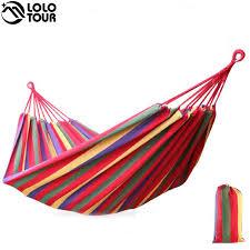 two person canvas hammock u2013 240 150cm u2013 2 color choices u2013 cheapest