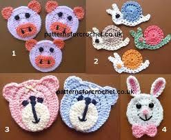 applique patterns free crochet animal applique patterns athomeintn
