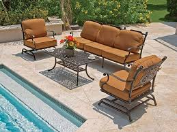 Patio Furniture Chairs Best 25 Cast Aluminum Patio Furniture Ideas On Pinterest Modern