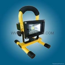 10w rechargeable flood light 10w rechargeable led floodlight 10 watt portable flood light with
