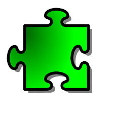 puzzle pieces outline clipart clipartbarn