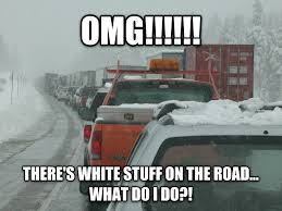 Traffic Meme - livememe com winter traffic