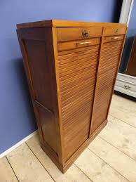 vintage antique french filing cabinet tambour g144 the french