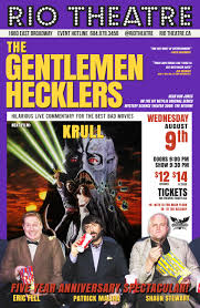 Hit The Floor Netflix - the gentlemen hecklers present krull 1983 u2013 rio theatre