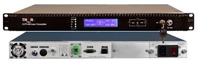 thor fiber f rf 1310 tx 4mw catv rf over fiber transmitter 45 870