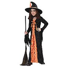 Girls Witch Halloween Costume Size Girls Halloween Costumes Scary Kmart
