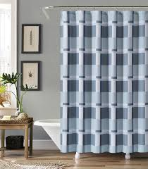 Gray And Brown Shower Curtain - white and gray block shower curtain at home at home