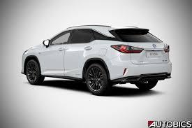 2017 lexus rx 450h new 2017 lexus rx 450h f sport rear right quarter autobics