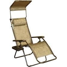 Folding Recliner Chair Bliss Hammocks Recliner Zero Gravity Lounge Chair With Sunshade