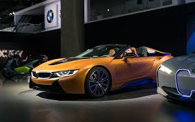 futuristic cars bmw bmw i8 roadster presented at la auto show bmwcoop