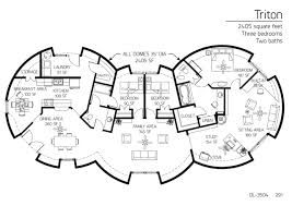 dome homes floor plans floor plans 3 bedrooms monolithic dome institute