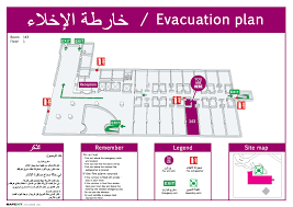 Fire Evacuation Floor Plan Template Displaying Items By Tag Floor Plans