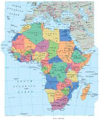 Africa Map With Capitals by Geography African History Credo Reference Research Guides At
