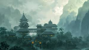 download desktop wallpaper the monastery in the japanese style