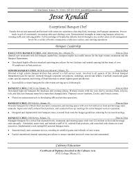 Chef Resumes Example Of Resume With Job Description Term Paper Jane Austen