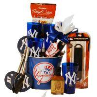 nyc gift baskets new york yankees gift basket great gift to send for a birthday
