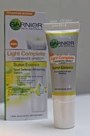 Serum Vitamin C Garnier wajah lebih cerah dalam 6 hari dengan garnier light complete white