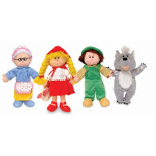 red riding hood puppets fiesta crafts let the children play