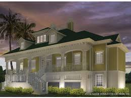 dream home source com sensational idea 11 one story house plans on pilings tidewater at