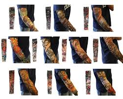 amazon com ieasysexy 20pc fake temporary tattoo sleeves body art