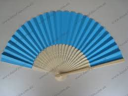cheap paper fans blue paper fans wedding fan wholesale free postage australia no