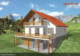 small house plans for slopes