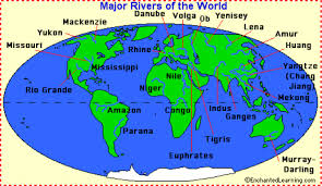 Parana River Map Rivers And Streams By Connor Fancy