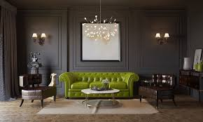 Green Leather Sofa by Living Room Awesome Black Leather Couch In Black Wall Paint