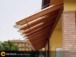 tettoie in legno e vetro pensiline italiane