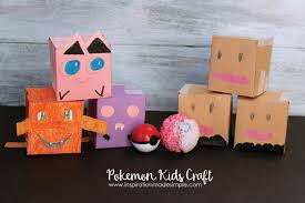 pokemon kids craft inspiration made simple