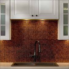 Kitchen  Backsplash Ideas For Kitchen Backsplash For Kitchen - Copper backsplash
