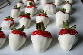 strawberry dipped in chocolate white blue chocolate covered strawberries family fresh meals