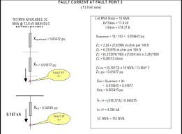 Va Rating Tables by Circuit Breaker Sizing On Fault Calculations Electrical