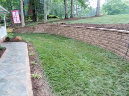 landscape block adhesive concrete blocks home depot build retaining wall versalock lowes