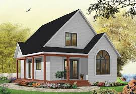 country cottage with wrap around porch 21492dr architectural
