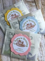 shower favors tea bag baby shower favors 4424