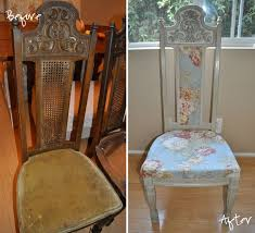 How To Upholster A Dining Chair How To Reupholster A Dining Room Chair Back Room Image And
