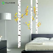 Forest Nursery Wall Decals by Wall Ideas Birch Tree Wall Art Birch Tree Landscape Framed