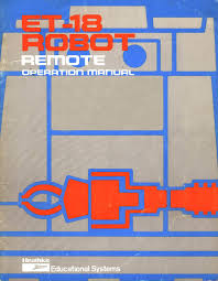 robot manuals the old robot u0027s web site