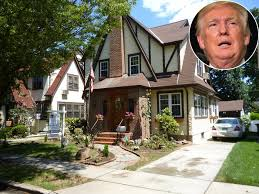 donald trump home donald trump s childhood home in queens is for sale people com
