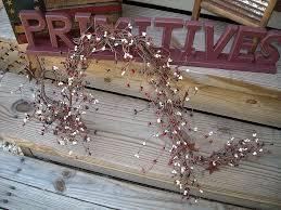 ginny myrt primitives pip berry primitive garland americana with