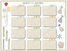 party menu planner template free birthday calendar birthday calendar