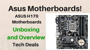 motherboard 10 best black friday deals asus h170 motherboard unboxing and overview ddr3 or ddr4