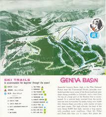 Conifer Colorado Map by Geneva Basin Skimap Org
