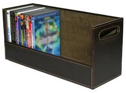 amazon com stock your home stacking dvd storage organizer u0026 movie