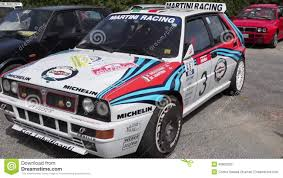 martini racing lancia delta hf integral martini racing stock video video 40802303