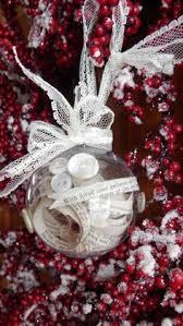 Handmade Ornaments Glass Balls Snow Greens Letter Beads An