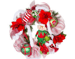 christmas mesh ribbon ribbon mesh wreath craft ideas